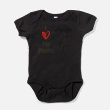 Cool Adopt dog Baby Bodysuit