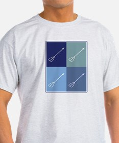 Archery  (blue boxes) T-Shirt