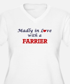 Madly in love with a Farrier Plus Size T-Shirt