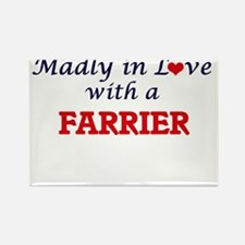 Madly in love with a Farrier Magnets