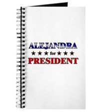 ALEJANDRA for president Journal
