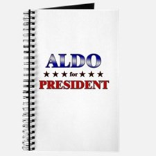 ALDO for president Journal