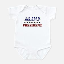 ALDO for president Infant Bodysuit