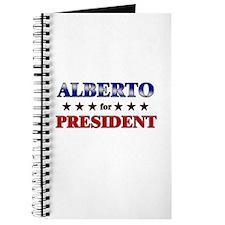 ALBERTO for president Journal