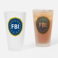 Unique Fbi badges Drinking Glass