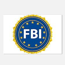 FBI Seal Postcards (Package of 8)