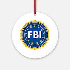 FBI Seal Round Ornament