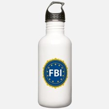 FBI Seal Water Bottle
