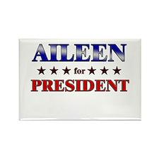 AILEEN for president Rectangle Magnet