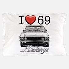69 Mustang Pillow Case