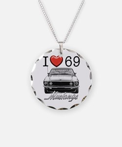 69 Mustang Necklace