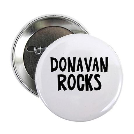 "Donavan Rocks 2.25"" Button (10 pack)"