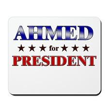 AHMED for president Mousepad