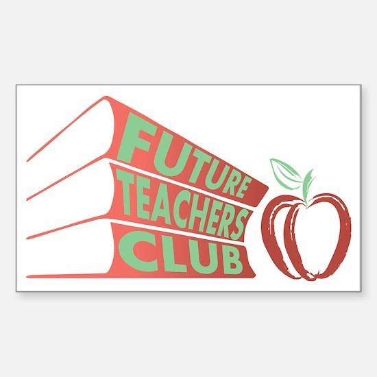 Cute Club Sticker (Rectangle)