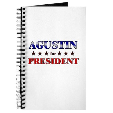 AGUSTIN for president Journal
