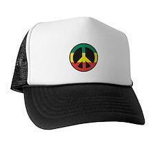 Rasta for peace Trucker Hat