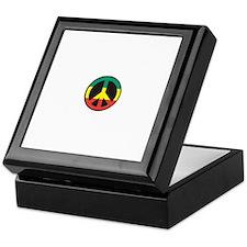 Rasta for peace Keepsake Box