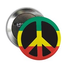 """Rasta for peace 2.25"""" Button (100 pack)"""
