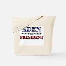 ADEN for president Tote Bag
