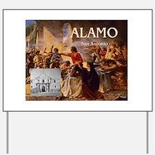 ABH Alamo Yard Sign