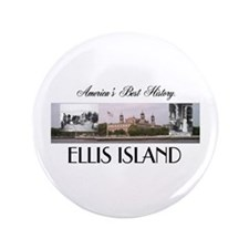 "ABH Ellis Island 3.5"" Button"
