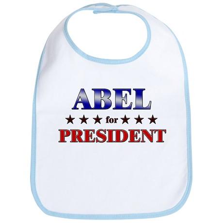 ABEL for president Bib
