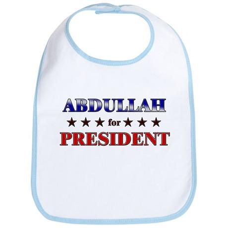 ABDULLAH for president Bib