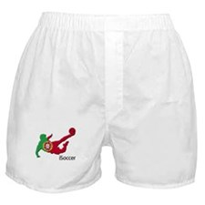 iSoccer Portugal Boxer Shorts