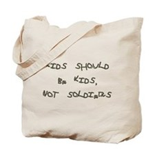 Child soldier Tote Bag