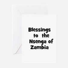Blessings  to  the  Nsenga of Greeting Cards (Pk o