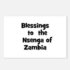 Blessings  to  the  Nsenga of Postcards (Package o