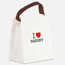 I Love BARONY Canvas Lunch Bag