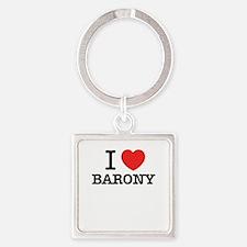 I Love BARONY Keychains