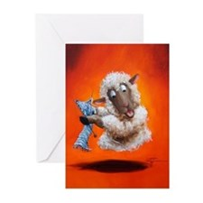 Hover Craft Greeting Cards (Pk of 10)