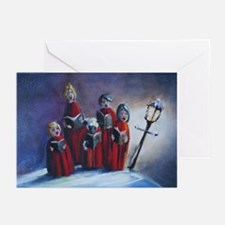Christmas Carolers Holiday Cards (Pk of 10)
