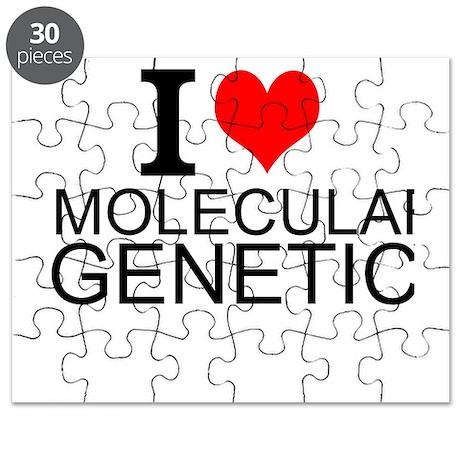 I Love Molecular Genetics Puzzle by interestsbest