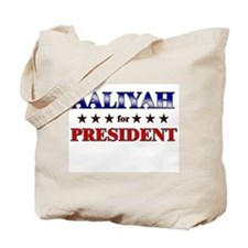 AALIYAH for president Tote Bag