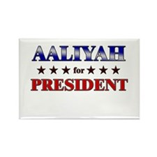 AALIYAH for president Rectangle Magnet