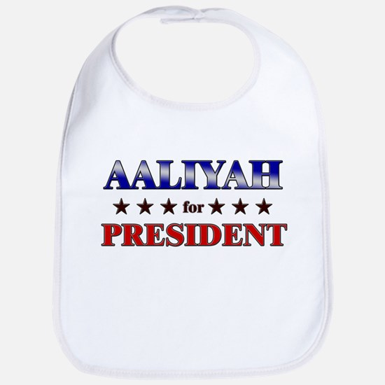 AALIYAH for president Bib