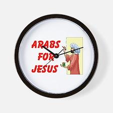 ARABS FOR JESUS Wall Clock