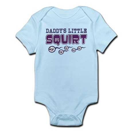 Daddy's Little Squirt Infant Bodysuit
