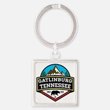 Cute Tennessee Square Keychain