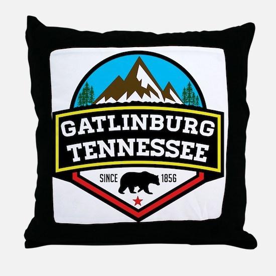 Cute Gatlinburg Throw Pillow