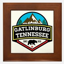 Cute Great smoky mountains Framed Tile