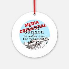 Real media looks good Keepsake (Round)