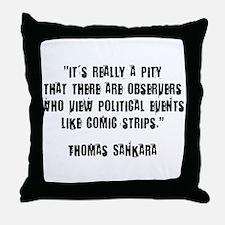 Political Awareness Throw Pillow