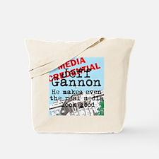 Real media looks good Tote Bag