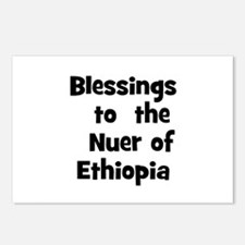 Blessings  to  the  Nuer of E Postcards (Package o