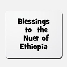 Blessings  to  the  Nuer of E Mousepad