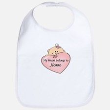 My Heart Belongs Nonno Bib